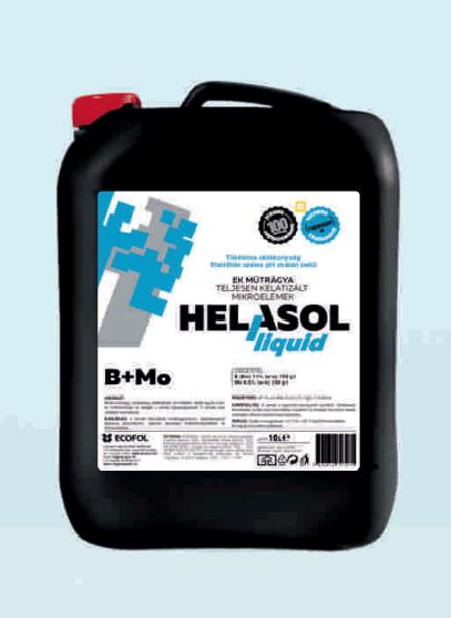 Helasol Liquid B+Mo - Völgység Agrár Kft.