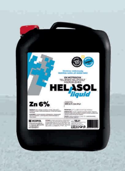 Helasol Liquid Zn - Völgység Agrár Kft.